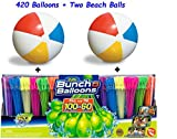 Bunch O Balloons Zuru Self-Sealing, Quick Fill Water Balloons (420 Pack) With Beach Balls