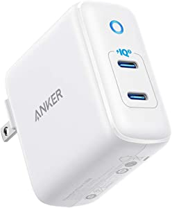 Anker 36W 2-Port PIQ 3.0 USB C Charger, PowerPort III Duo Type C Wall Charger, Foldable Plug, Power Delivery for iPhone 11/11 Pro / 11 Pro Max/XR/Xs/Max/X, Galaxy, Pixel, iPad Pro and More