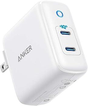 Anker 36W 2-Port PIQ 3.0 USB C Charger