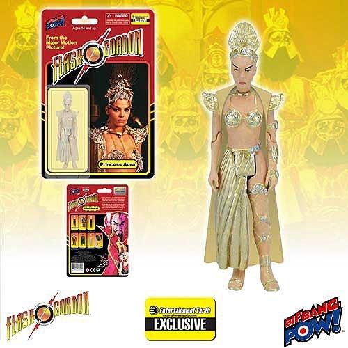 Flash Gordon Princess Aura in Bikini 3 3/4-Inch Action Figure - Entertainment Earth Exclusive.