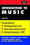 Schaum's Outline of Introduction to Music, Pen, Ronald, 0070380686