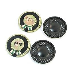 Internal Magnet Electronic Toy Speaker Amplifier 1W 8 Ohm 30mm 4 Pcs