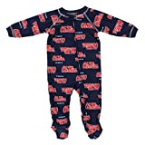 Outerstuff Mississippi Rebels NCAA Baby Boys Raglan Zip-up Coverall Sleeper, Navy