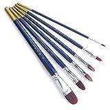 6pcs Fondant Cake Icing Decor Painting Brushes...