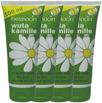 Herbacin Wuta Kamille Hand Cream 100ml (Tube) by Herbacin