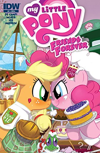 My Little Pony: Friends Forever #1 (My Little Pony Friends Forever Graphic Novel) (Tie Baler)