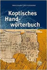 Amazon.com: Koptisches Handworterbuch: Bearbeitet auf der