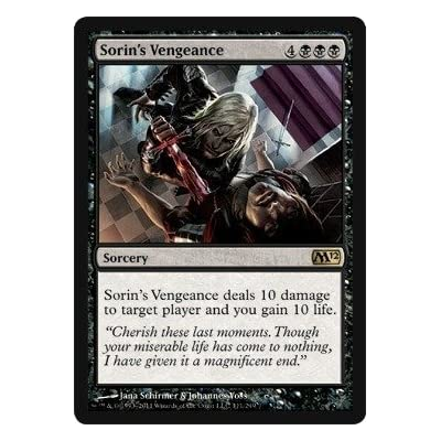 Magic: the Gathering - Sorin's Vengeance - Magic 2012 - Foil: Toys & Games