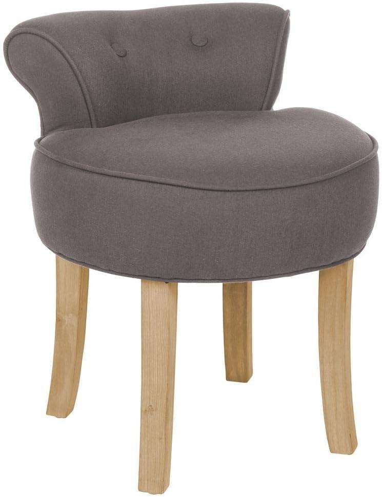 con schienale e seduta pouf da pavimento sedia da giardino Chilly pilley cappuccino