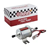 Bravex Universal 12V Low Pressure Gas Diesel Inline Electric Fuel Pump HEP-02A (4-7 PSI)