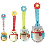 Boston Warehouse Snowy Owls Measuring Spoon Set, Set of 4