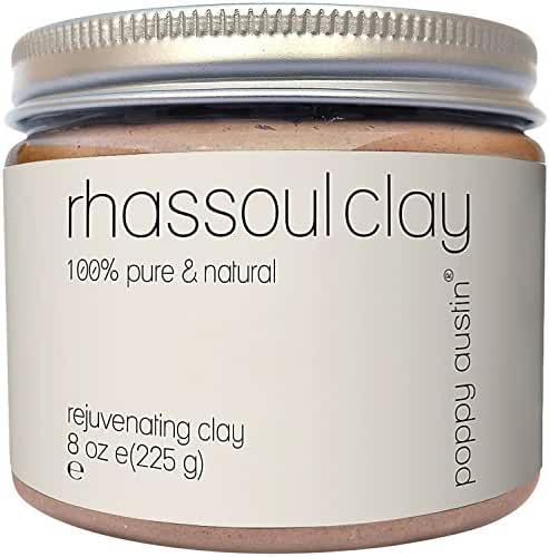 Poppy Austin 100% Organic Rhassoul Clay Hair and Facial Mask