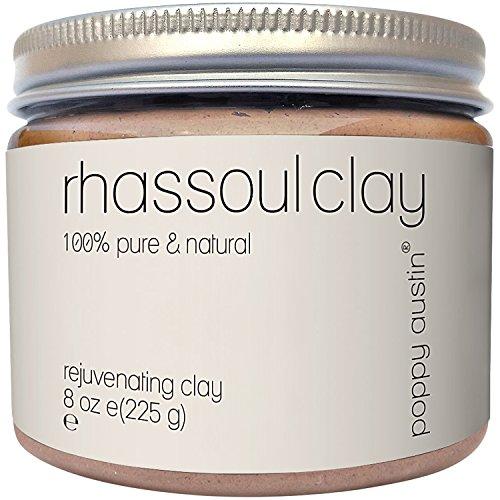 Poppy Austin 100% Organic Rhassoul Clay Hair and Facial Mask
