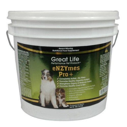 Great Life Enzymes Pro Pet Digestive Remedy, 4-Pound, My Pet Supplies