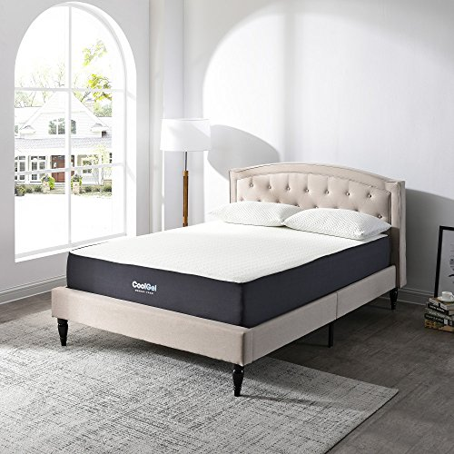 Classic Brands Cool Gel Ventilated Gel Memory Foam 10.5-Inch Mattress, King Ventilated Memory Foam