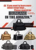 AUMTISC Pistol Range Bag Tactical Shooting Gun