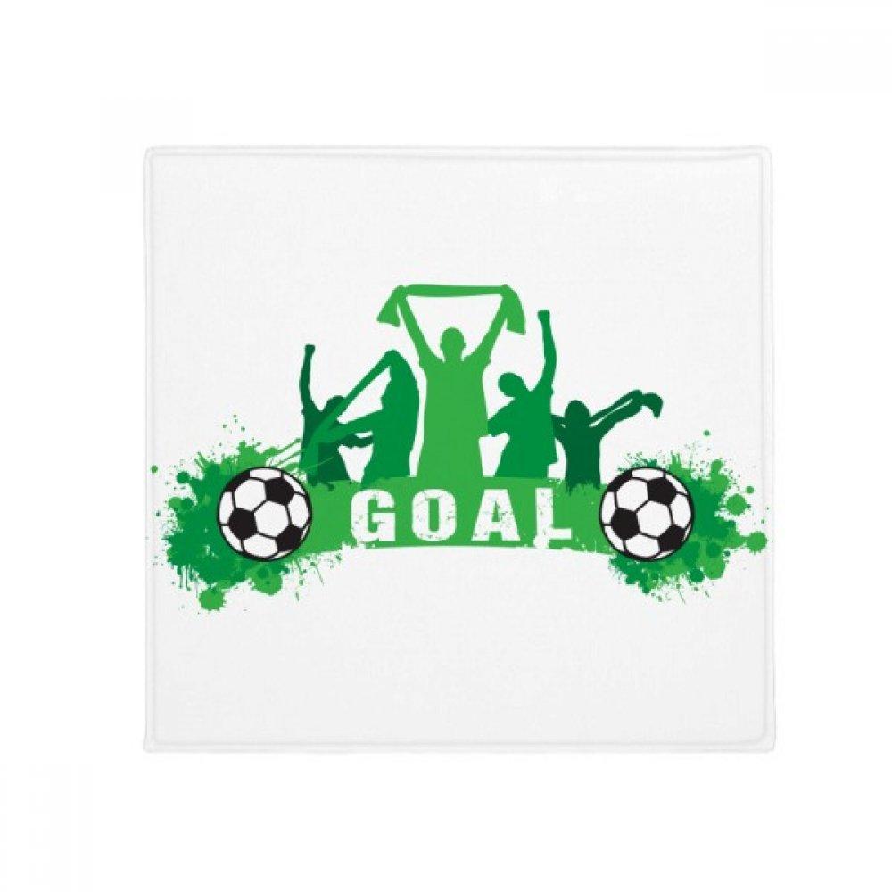 DIYthinker Win Soccer Football Sports Anti-Slip Floor Pet Mat Square Home Kitchen Door 80Cm Gift