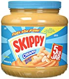 Skippy Creamy Peanut Butter, 5 Pound
