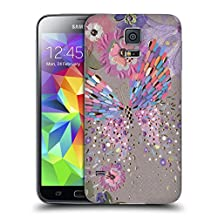 Official Turnowsky Breathless Buttlerfly Others Replacement Battery Cover for Samsung Galaxy S5 / S5 Neo
