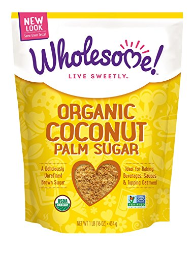 Wholesome Organic Coconut Sugar, 16-Ounce