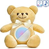 Baby Night Light Teddy Bear- Musical LED Stuffed Animal Night Light Plush Toy Cute & Realistic Glow Teddy Bears Stuffed Animals Creative Light up Plush Toy Gift for Girl Boy Kids 9'