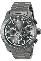 Invicta Men's 'Speedway' Quartz Stainless Steel Casual Watch (Model: 21800)
