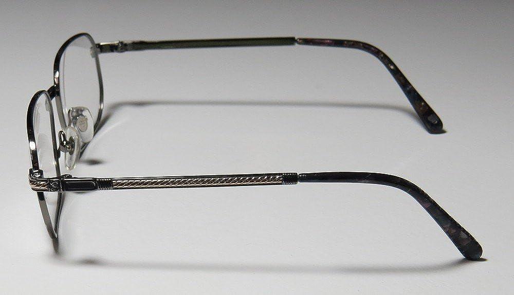 1b441f8f925 Amazon.com  Paolo Gucci 8112 Mens Womens Designer Full-Rim Shape 21k Gold  Plated Fashionable Male Hip Eyeglasses Glasses (54-16-140