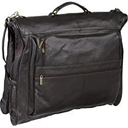 AmeriLeather Vintage Three-Suit Garment Bag