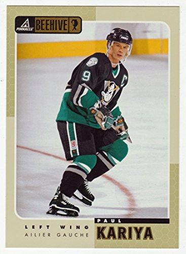 Paul Kariya (Hockey Card) 1997-98 Pinnacle Beehive 5