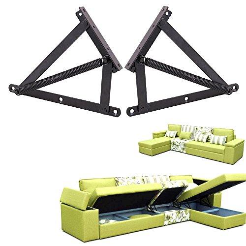 Sofa Bed Box Matress Lift Spring Mechanisms Storage Space Saving Hardware Hinges For living - Kate Uk Space