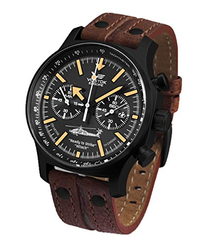 Vostok-Europe Task Force Marauder Chrono Mens Watch 6S21-5954414