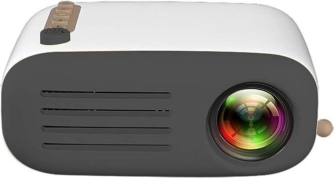 Proyector Cine en Casa,YG200 LED Mini Video Proyector Portatil para Niños,Full HD Retroproyector 1080p Ayudas USB/ HDMI/ SD/ AV/ TF PC Multimedia Home Theater Proyector: Amazon.es: Electrónica