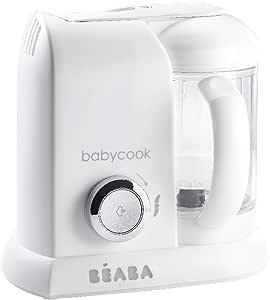 Béaba BABYCOOK SOLO Edición Silver/White - Robot de cocina 4-en-1 (UK IMPORT - Color: Blanco/Plata): Amazon.es: Bebé