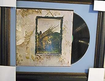 Led Zepplin autographed album with John Bonham