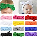 Baby Girls Headbands Bows Headwrap Turban...