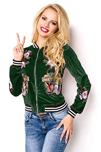 Glamour Giacca Donna Fashion Angies Verde 7SwqTT8