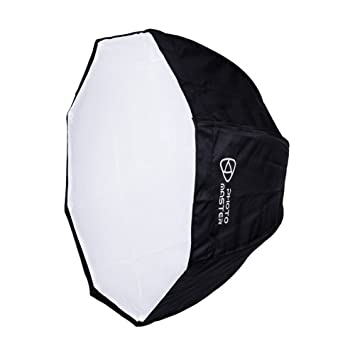 "Photo Master 31""/80cm Softbox Octagonal, Flash Studio, SoftBox Paraguas con Bolsa"