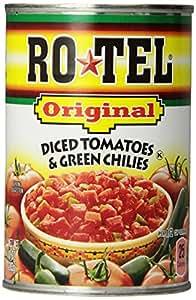 Ro-Tel Tomato & Green Chilies, Diced, 10 oz