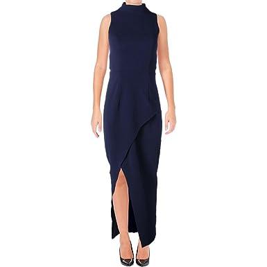 Bariano Womens Had Me at Hello High-Neck Drapey Semi-Formal Dress at Amazon  Women s Clothing store  10851fdde
