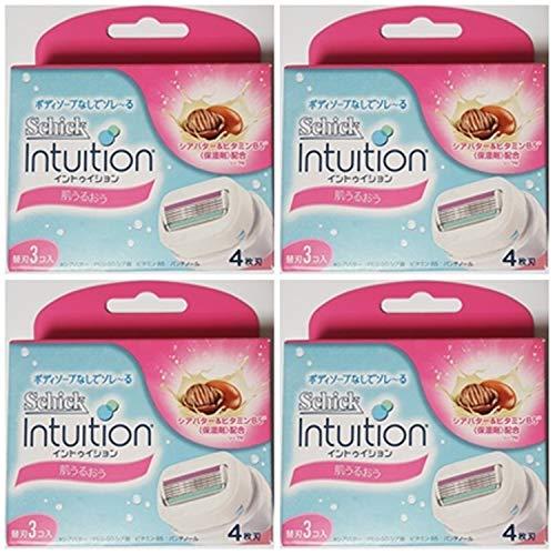 - NEW Schick Intuition Shea Butter Razor Advanced Moisture RefillCartridge 12 Blade