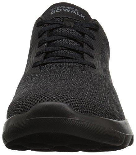 Skechers Herren Go Walk Max Sneaker Schwarz Schwarz