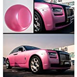 HOHO 1.52MX18M Pink Auto Car Body Paint Wrap Vinyl Scratchable Film Self Adhesive Air Bubble Release