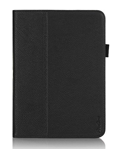 ProCase Folio Case for Galaxy Tab 4 10.1 Tablet (10 inch Samsung Galaxy Tab 4, SM-T530 / T531 / T535), with Auto Sleep/Wake feature (Black)