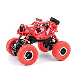 ElevenY Remote Buggy 1/43 RC Car Rc Mini RC Rock Crawlers 2.4Ghz Radio Controlled Cars Off-Road Radio Controlled Machine RTR Toys - Rechargeable Electric Race Buggy For Kids Adults Hobby Toys Xmas Gif