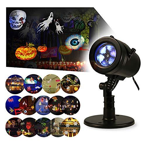 LIGHTESS Christmas Lights Projector Outdoor Indoor Halloween Decorations