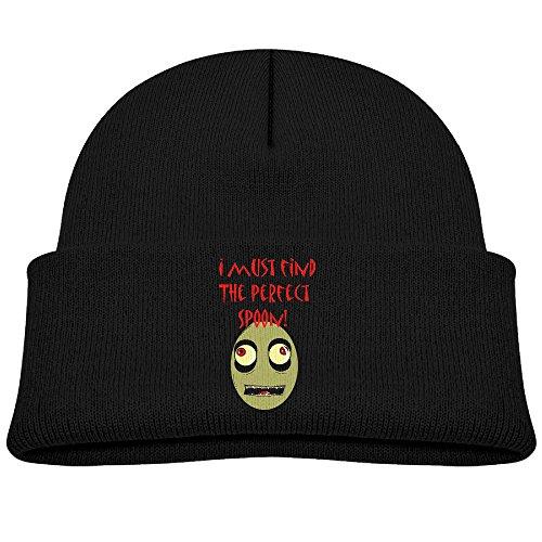 LeaDear Children Salad Fingers Warm Knit Beanie Skull Cap/Hat Black