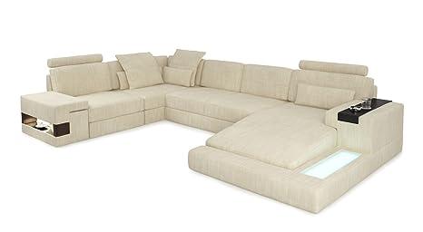 Sofa Couch Wohnlandschaft Xxl Modern Stoffsofa Design Ecksofa U