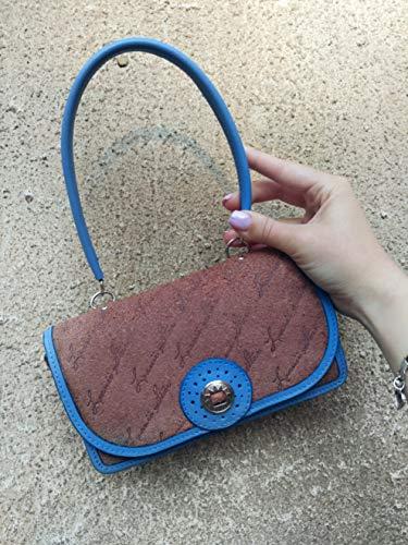 Trendy Suede Handbag - Leather Mini Handbag For Woman, Horisontal Trendy Crossbody With Little Strap, Suede Miniature Kids Handmade Bag, Beautiful Compact Wallet, OOAK Portable Horisontal Purses