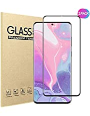 [2 Pack]Samsung Galaxy S20 Ultra Screen Protector,HD Clear 9H Hardness Scratch Resistant Tempered Glass Protective Film for Samsung Galaxy S20 Ultra 5G 6.9 Inch