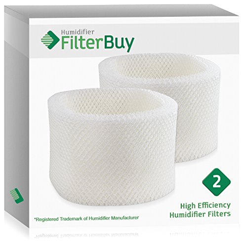 2 - HWF72 HWF75 Holmes, Touch Point, Sunbeam Humidifier Replacement Filters. Designed by FilterBuy in the USA.